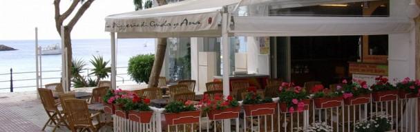 Restaurante Pizzeria en venta en el Paseo Maritimo de Santa Eulalia (Ibiza)